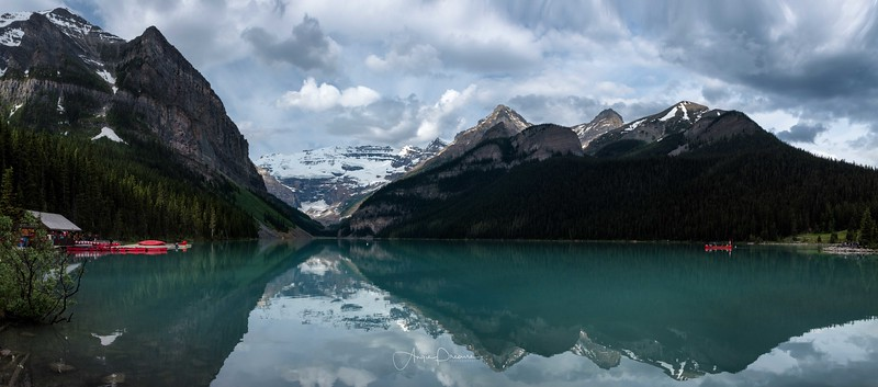 Lake Louise on Canada Day!