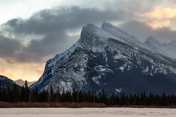 Vermillion Lakes Sunrise ~ Banff National Park