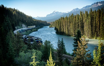 Morant's Curve, Banff National Park