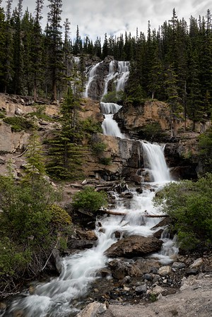 Icefields Parkway Waterfall