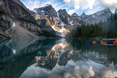 Moraine Lake Evening