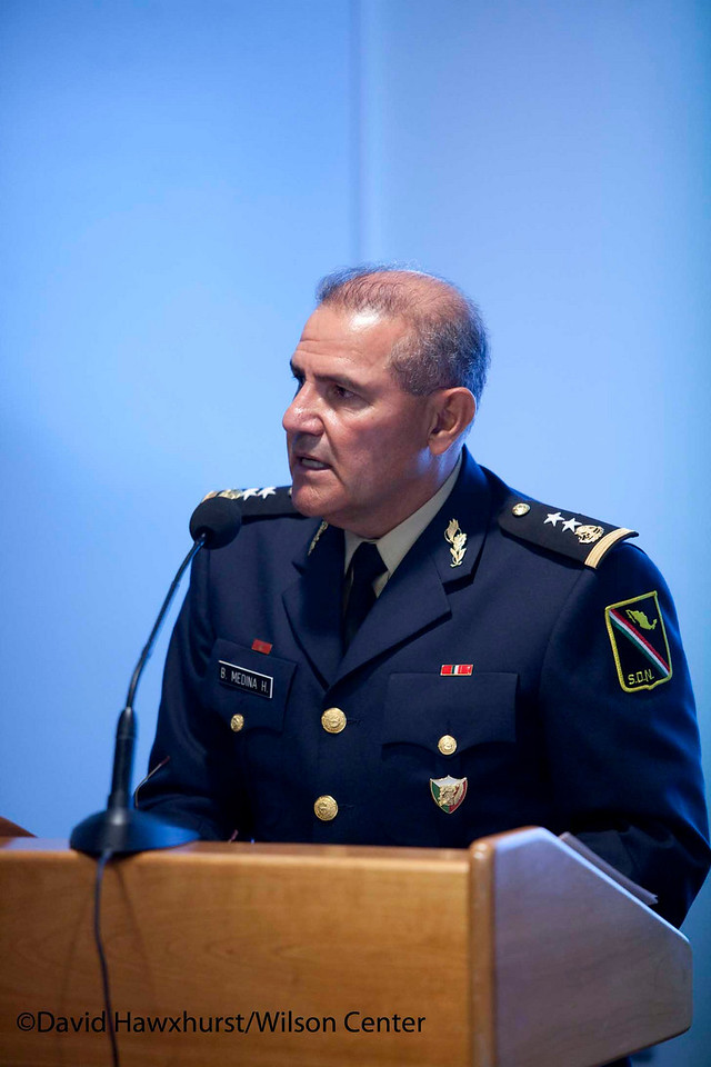 Trilateral Security Cooperation in North America: New Dimensions and Approaches<br /> <br /> Speaker(s): General Gene Renaurt, Vice Admiral A.B. Donaldson, Rich Downie, Abelardo Rodriguez etc.