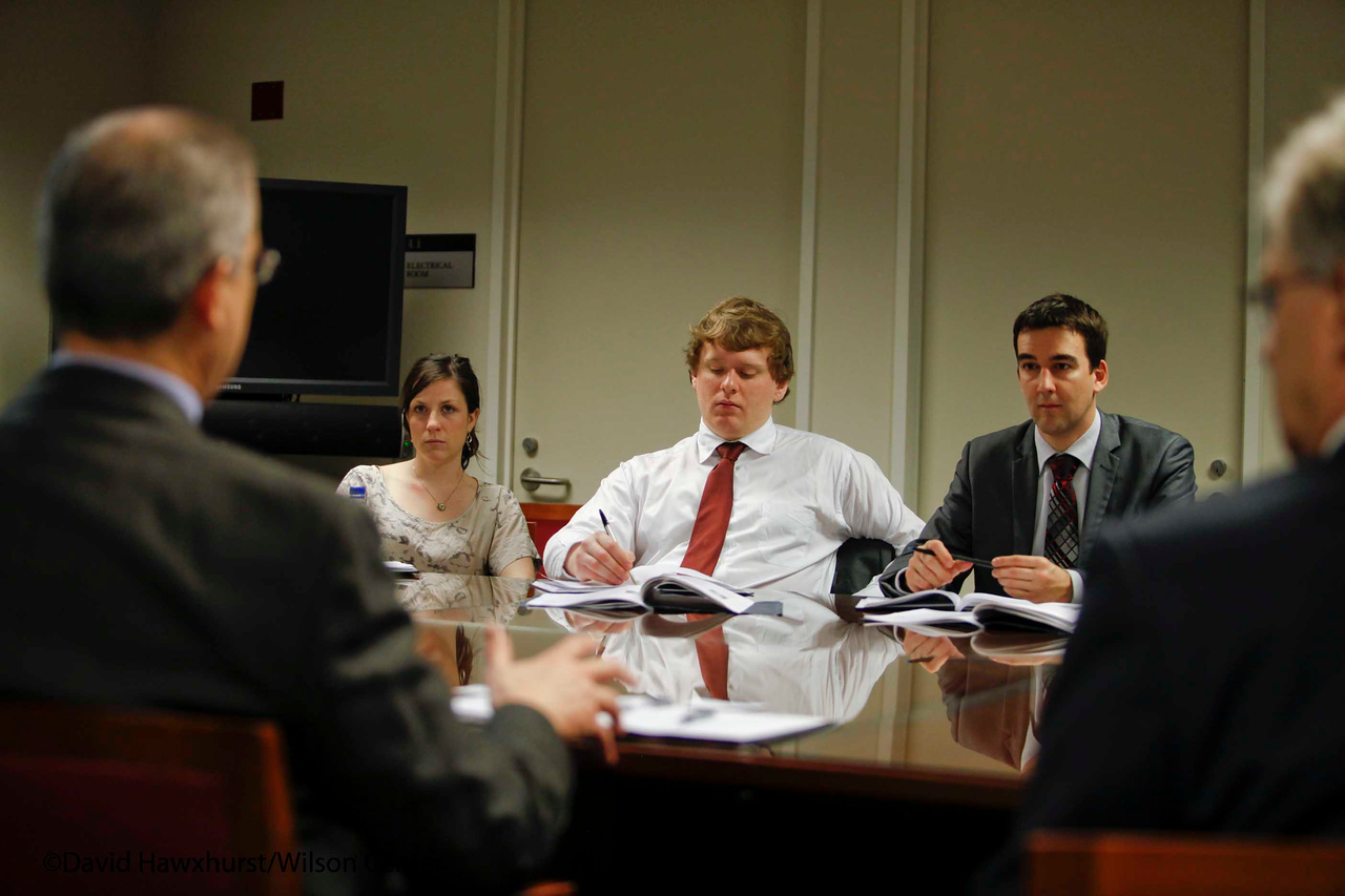 Private meeting for American Political Science Association Congressional Fellows