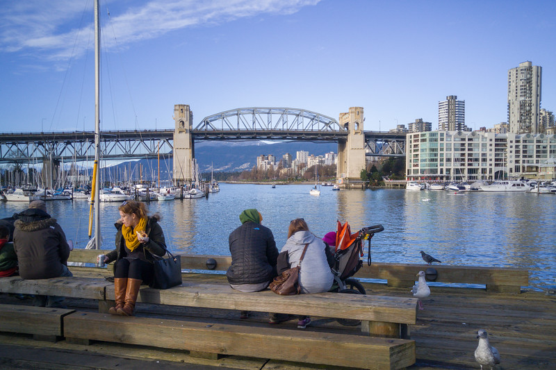 Views of Vancouver from Granville Island | Winter in Vancouver