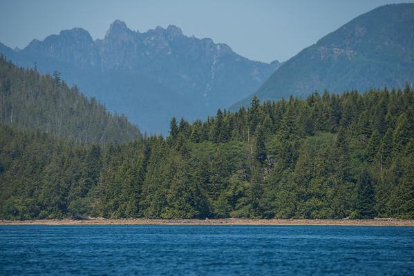 Clayoquot Sound landscapes, Tofino, BC