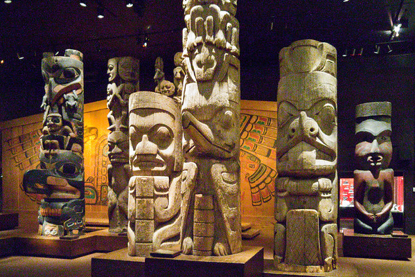 Indigenous totum poles at The Royal BC Museum | Things to do in Victoria, BC