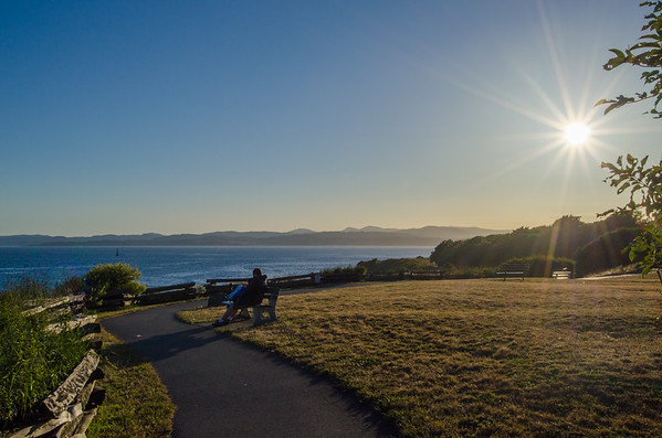 Sunset at Beacon Hill Park | Things to do in Victoria, BC