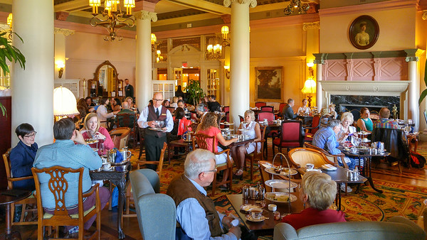 Afternoon tea at the Empress | Things to do in Victoria