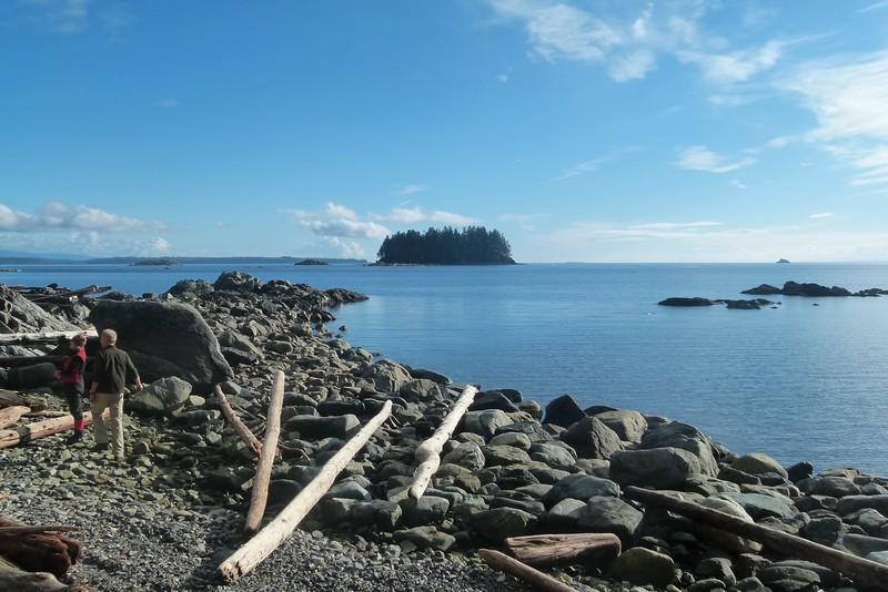Shore, island ferryboat