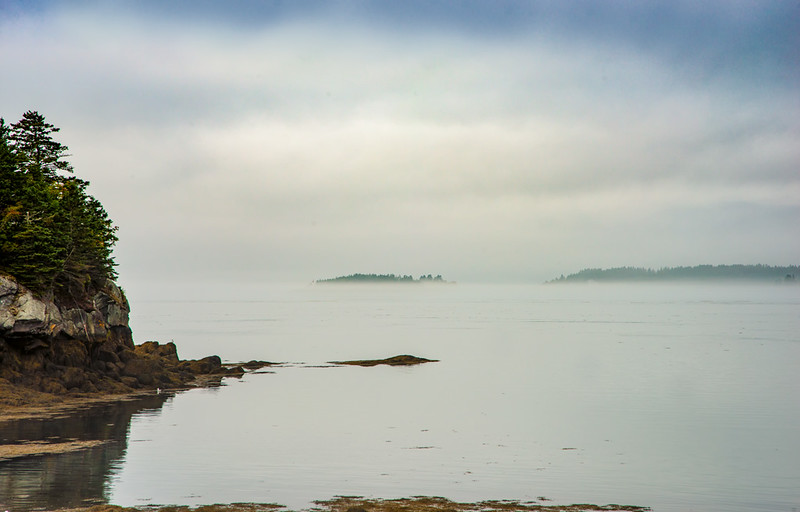 Our first day: Foggy morning at Campobello Island