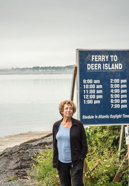 Waiting for the Ferry to Deer Island