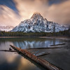 Mount Chephren as seen from the northern end of Waterfowl Lakes<br /> Nisi Landscape CPL, 4 stop soft GND, 10 stop ND