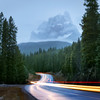 Bow Valley Parkway and Castle Mountain on a rainy October morning<br /> Nisi landscape CPL .