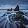 Rodeo Beach at dusk<br /> Landscape CPL, 4 stop soft GND