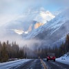 Driving the Icefields Parkway :<br /> 70-200mm handheld