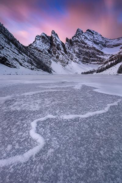 Lake Agnes,  10 stop ND filter, landscape CPL
