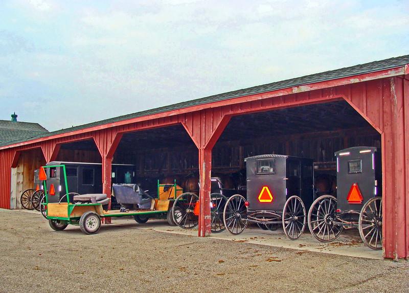 Mennonite Parking Garage