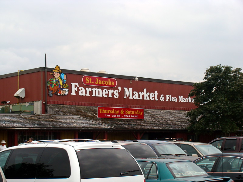 St. Jacobs Farmers' Market & Flea Market