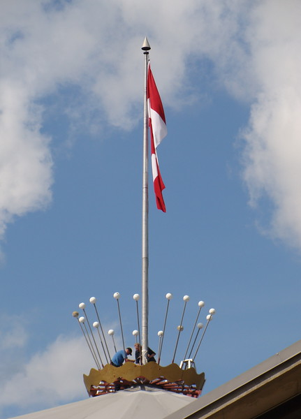 Crown and Flag