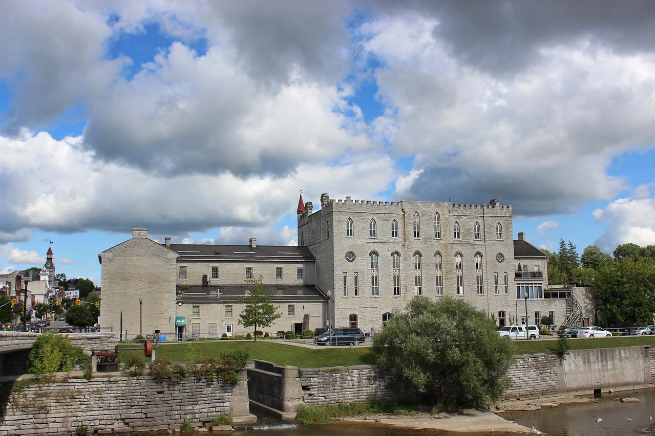 Castle-style Limestone Retail Building
