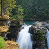 WA 017<br /> <br /> The North Fork of the Nooksack River tumbles over Nooksack Falls near Mount Baker in Whatcom County, Washington.