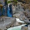 CA 009<br /> <br /> The Green River carves its way through the granite bedrock to create Nairn Falls.  Nairn Falls Provincial Park, British Columbia.