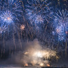 CA 016<br /> <br /> Pyrotechnics explode over English Bay during the annual Celebration of Light fireworks competition in Vancouver, British