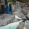 CA 008<br /> <br /> The Green River carves its way through the granite bedrock to create Nairn Falls.  Nairn Falls Provincial Park, British Columbia.