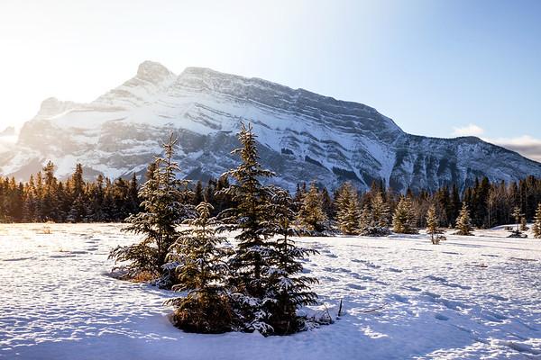Sunrise in Banff National Park