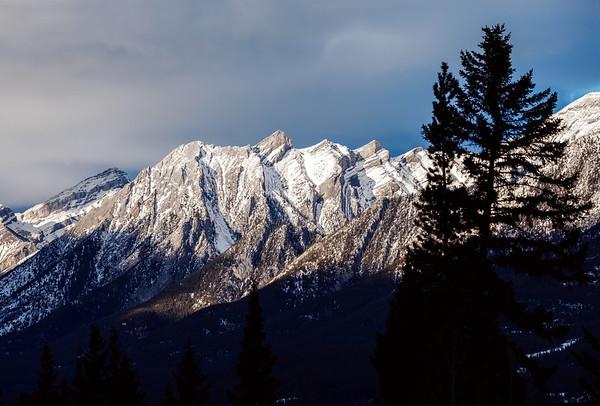 Mountain near Canmore, Alberta