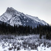 Mount Rundle in Banff, Alberta