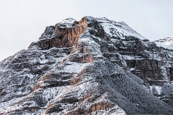 Mountain in Kananaskis Country near Banff National Park, Alberta, Canada.