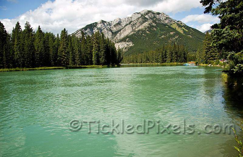 Bow River at Banff
