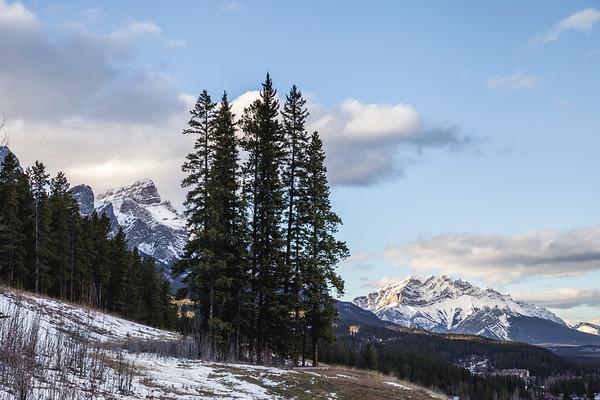 Landscape near Canmore, Alberta
