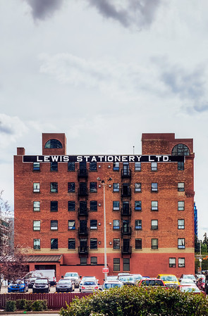 Lewis Stationary Ltd. building in Calgary, Alberta, Canada.