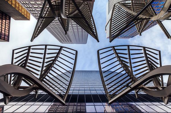 Buildings in downtown Calgary