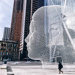 Wonderland is a sculpture by Spanish artist Jaume Plensa. The  public art installation is located at the foot of the Bow, he tallest office tower in Calgary, Alberta, Canada. The head scultp ...