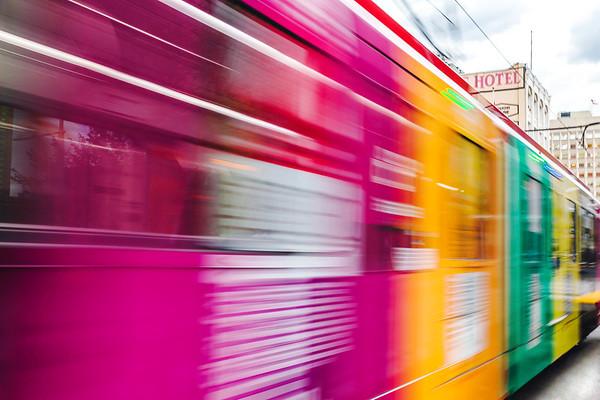 Streetcar in Calgary