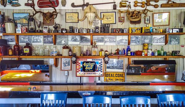 The Last Chance Saloon in Wayne, Alberta