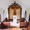 Interior of Drumheller's Little Church