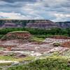 Badlands on the Dinosaur Trail, Alberta