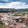 Canadian Badlands landscape