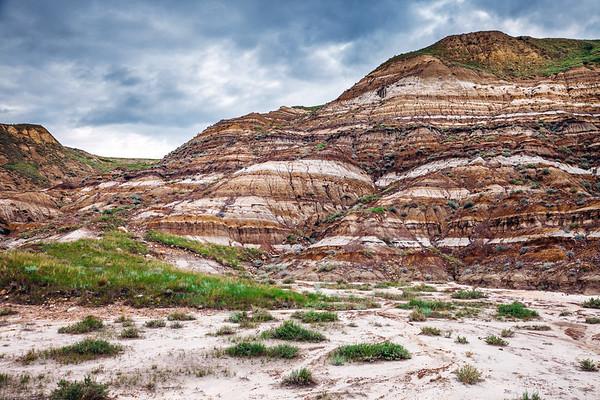 Canadian Badlands landscape, Alberta