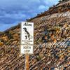 The Dinosaur Trail close to Drumheller in Alberta, Canada