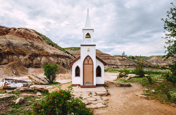 Drumheller Little Church