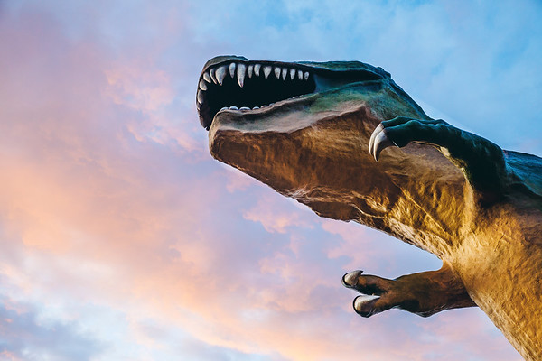 World's Largest Dinosaur in Drumheller, Alberta