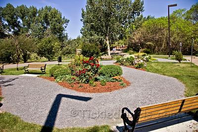Centennial Garden in Henrietta Muir-Edwards Park