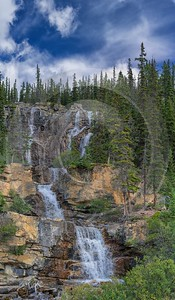 Icefields Parkway Jasper Alberta Canada Panoramic Landscape Photography Barn Image Stock - 017058 - 23-08-2015 - 7141x12230 Pixel