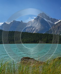 Waterfowl Lake Jasper Alberta Canada Panoramic Landscape Photography Fine Art Posters - 017077 - 23-08-2015 - 7752x9347 Pixel