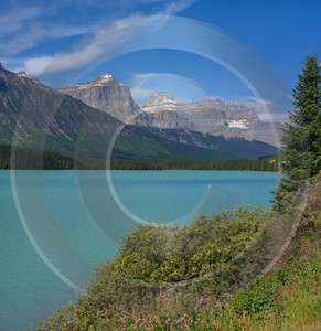 Waterfowl Lake Jasper Alberta Canada Panoramic Landscape Photography Prints Winter - 017075 - 23-08-2015 - 7716x7960 Pixel
